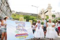 Servidores da saúde na Lavagem do Bonfim 2015