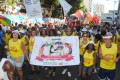Servidores da saúde protestam na Mudança do Garcia 2015