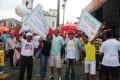 Sindsaúde-Ba presente na manifestação unificada do Dia do Trabalhador 2015 - Fotos: Eduardo Paranhos