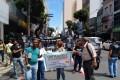 Passeata dos servidores da Saúde contra o reajuste parcelado - 4/5/2015