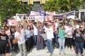 Centenas de servidores da Saúde fazem passeata no CAB 23.07.2015