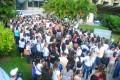 Greve - assembleia em frente à Sesab - 20-07-15. Fotos Carlos Américo