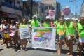Servidores da Saúde protestam na Mudança do Garcia 2016