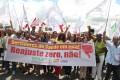 Dia de Luta dos Trabalhadores Públicos do Estado da Bahia contra o Reajuste Zero  e o PLP 257 - 07.04.2016
