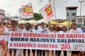 2 de Julho:Sindsaúde cobra reajuste salarial e defende direitos dos trabalhadores e democracia